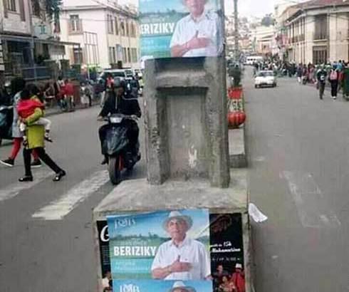 Omer Beriziky : Des affiches sont déjà  placées !