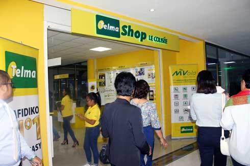 Telma : Un nouveau Shop à Ampasanimalo