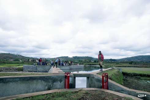 Infrastructures agricoles : Un barrage hydraulique construit par STAR à Tsiafajavona