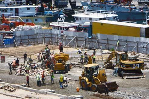 Port de Toamasina : Travaux d'extension achevés à 25 %