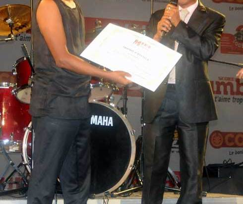 Trophée d'honneur : Le pionnier Ariry Andriamoratsiresy