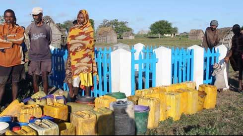 Région Androy : L'arrivée de l'eau redonne espoir