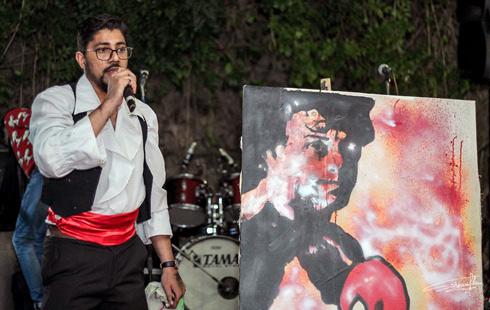 Peinture : L'univers pictural de Zouzar à Antsahabe