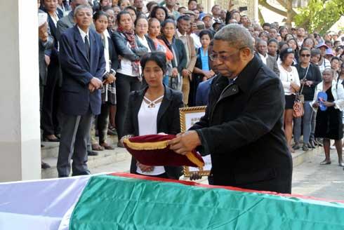 Jaona Elite : Emouvantes obsèques  hier