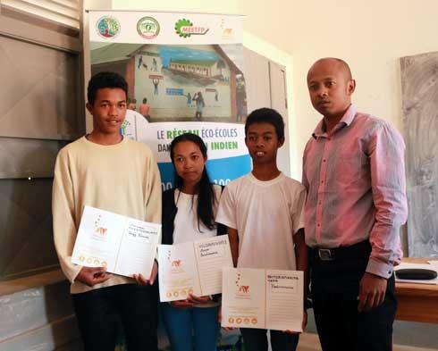 Concours régional Energies : Une éco-école soutenue par MNP