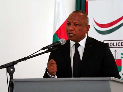 PM Ntsay Christian : « Non au corporatisme des forces de l'ordre »