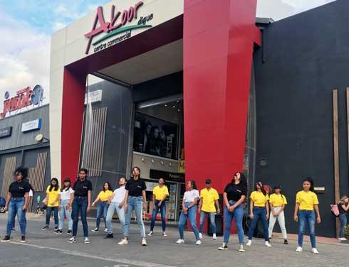 GCAM : Des séances de flash mob dans les centres commerciaux