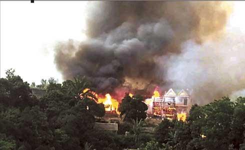 127 maisons brulées à Ankaramalaza : Des habitants soupçonnent un incendie criminel
