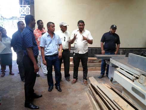 Région de Menabe : Appui du Gouverneur au LTP de Morondava