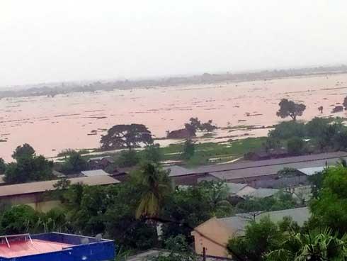 Intempéries et dégâts agricoles : 5 550 Ha de rizières dévastées à Marovoay, 17 000 à 20 000 tonnes de riz irrécupérables