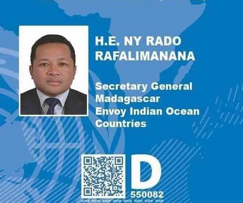 Ny Rado Rafalimanana : « Je ne suis pas un  concurrent  du  régime »