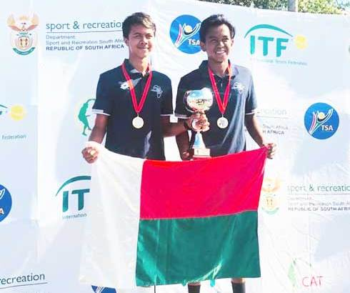 Tennis –Championnats d'Afrique U18 : Toky et Sampras sur le toit de l'Afrique