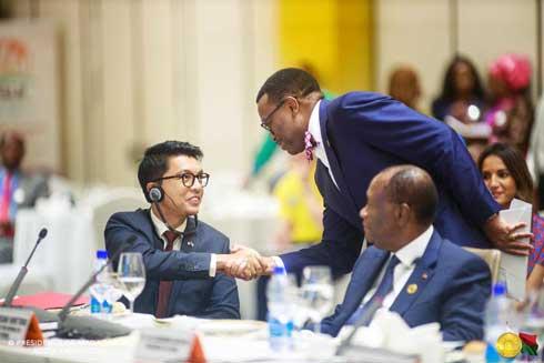 Combat contre la malnutrition : Andry Rajoelina sacré « champion » par le président de la BAD