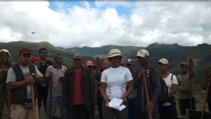 Aire protégée de Manjakatompo Ankaratra :Reboisement d'Aloe macrolada par le CNARP