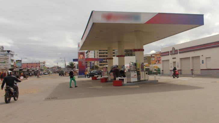Carburant: 90% de baisse des ventes dans les stations-services