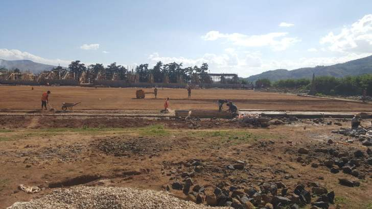 Football : Le nouveau stade de Betafo prend forme