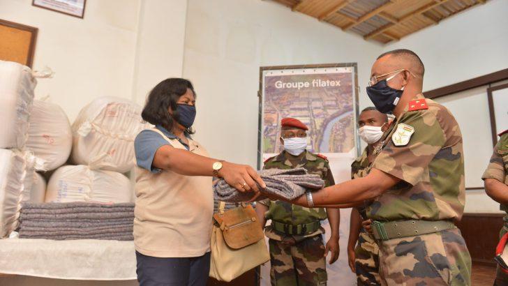 Coronavirus : Le Groupe Filatex fournit son appui aux forces de l'ordre