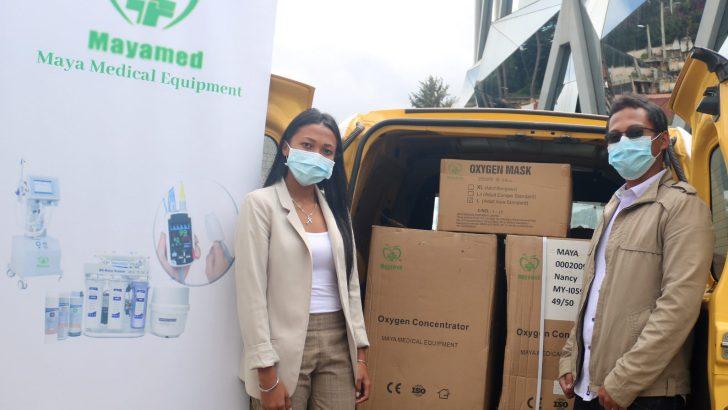 Maya Medical Equipment : Un don d'équipements médicaux pour lutter contre la covid-19