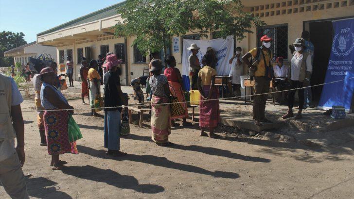 Ecoles fermées : Distribution de rations sèches par le PAM à 24 000 élèves de 4 CISCO de l'Atsimo Andrefana
