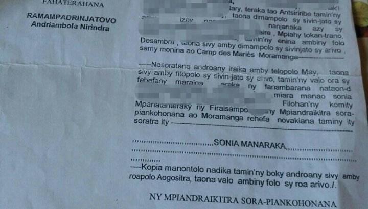 Moramanga : Liberté provisoire d'un présumé auteur d'inceste