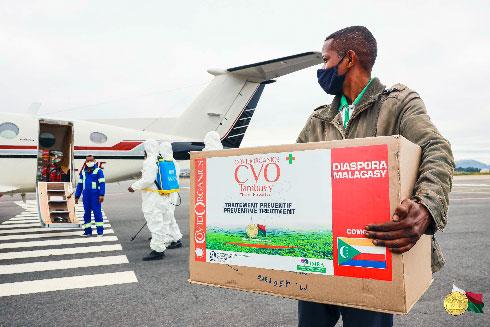 Coronavirus : L'Union des Comores va soigner ses malades avec le Covid-Organics