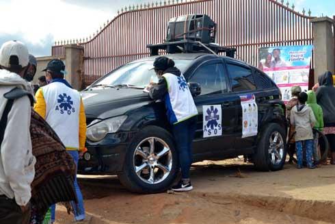 ASOS Madagascar : Campagne mobile de sensibilisation sur le Covid-19