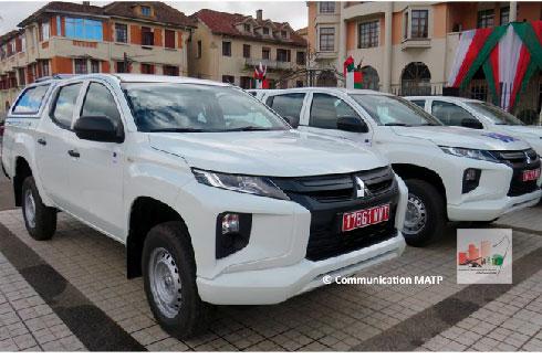 Assainissement d'Antananarivo : Don de sept voitures 4×4 par l'Union Européenne et l'AFD