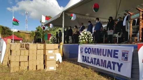 Fondation HV : Des paniers garnis pour les habitants de Talatamaty