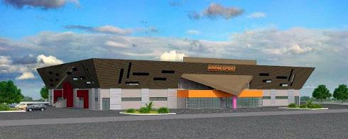 Anosy – Gymnase couvert Ampasamasay : La construction débutera en juillet