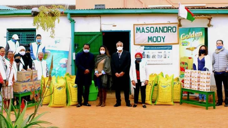 BIDCO: Action sociale en faveur de l'ONG Masoandro Mody