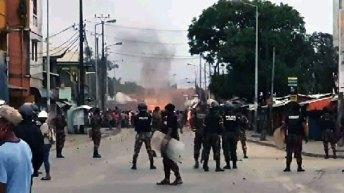 Vives tensions à Toamasina : Affrontements hier entre forces de l'ordre et manifestants