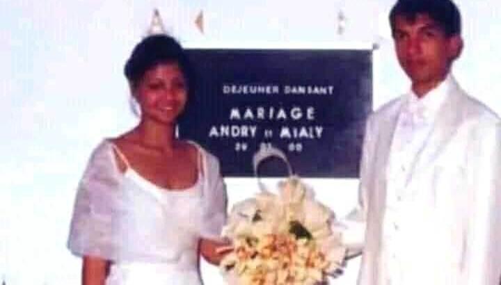 Mialy et Andry Rajoelina :20ème anniversaire de mariage hier