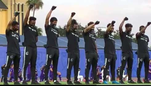 Football : Métanire soutient « Black Lives Matter »