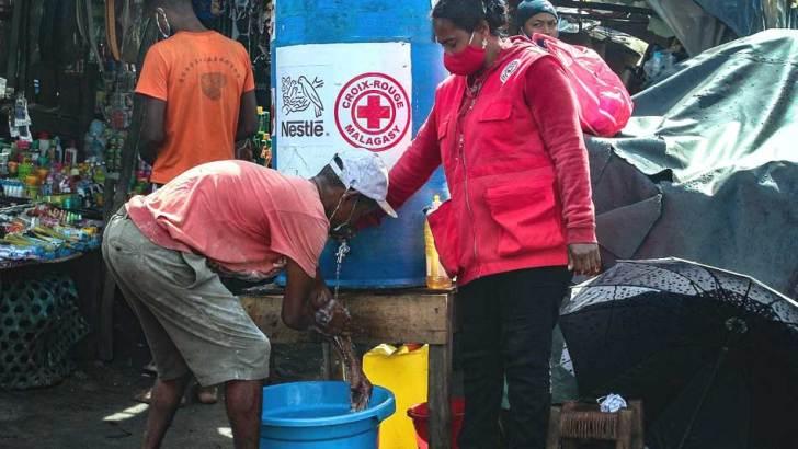 NESTLE – Croix-Rouge Malagasy: Partenariat pour la lutte contre le Covid-19 dans la région Atsinanana.
