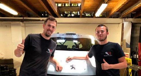 Rally Cup 2020 : Hugo Louvel sur la ligne de départ