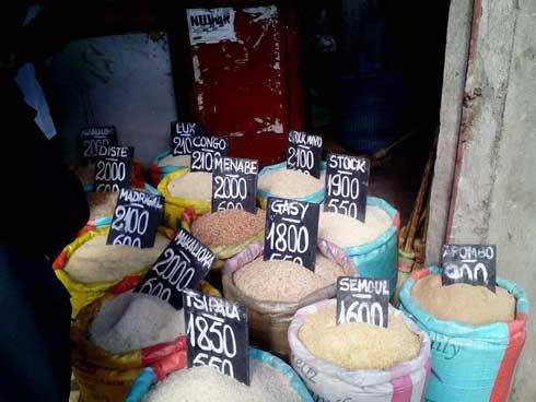 PPN : 100 tonnes de riz/jour écoulées sur le marché d'Anosibe