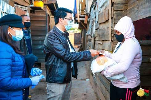 Andry Rajoelina : Pas de discrimination pour les aides sociales