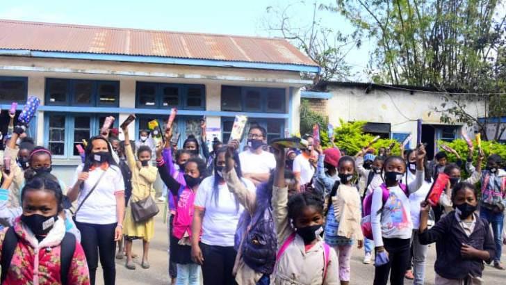 EPP Soanierana II :143 écoliers gatés par le MMF