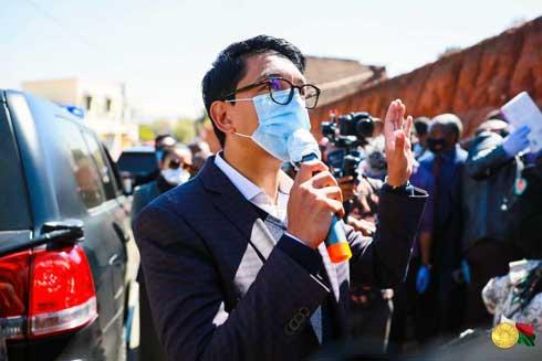 Andry Rajoelina : « Chaque foyer sans exception recevra le sosialim-bahoaka »