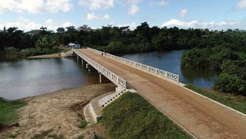 Réfection de la RN5 : 18 ponts et un dalot reconstruit sur l'axe Mananara Avaratra – Maroantsetra