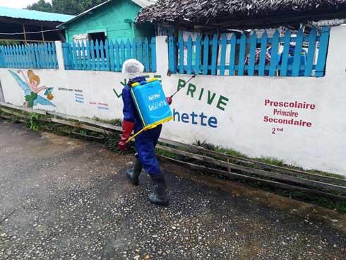 Retour à l'école : L'UNICEF complète les mesures sanitaires