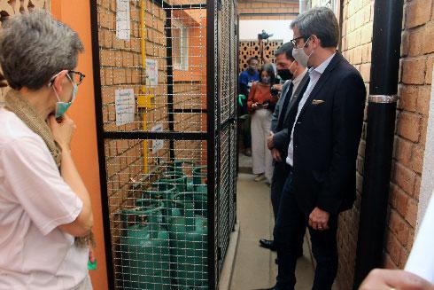 Vitogaz : Don de cuisinières à gaz à l'association Graines de Bitume