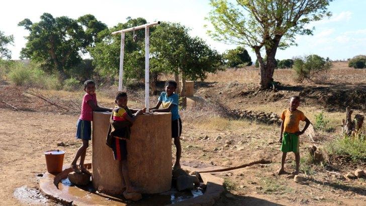 Famine :D'espoir et d'eau fraîche dans le sud malgache