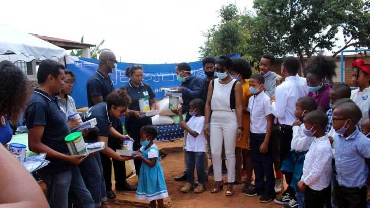 RSE: BGFI Madagascar appuie le Centre Aïna Enfance et Avenir