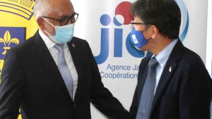 CUA-JICA :Dotation de matériels pour la collecte des ordures