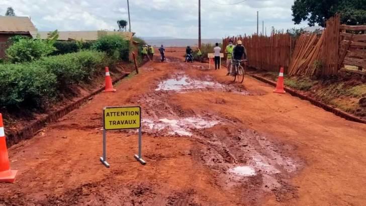 Route Provinciale 84 :Travaux de réhabilitation sur l'axe Arivonimamo-Manalalondo