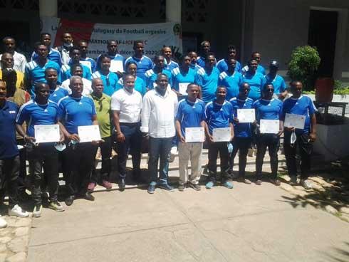 Football – Licence C CAF pour entraîneur : Un plateau très relevé
