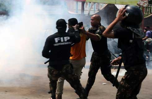 Manifestation des étudiants de l'ENS : Un blessé et trois arrestations