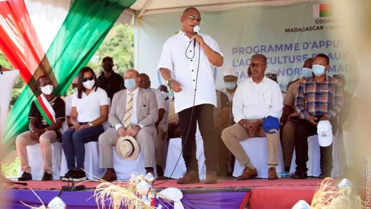 Basse Mahavavy: Lancement des travaux de remise à l'état du réseau hydroagricole