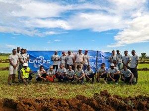 Enelec :  1140 jeunes plants mis en terre